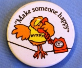 A Buzby badge