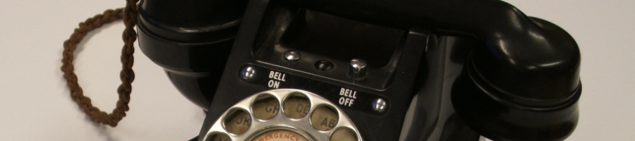 GPO 300 series Bakelite telephone