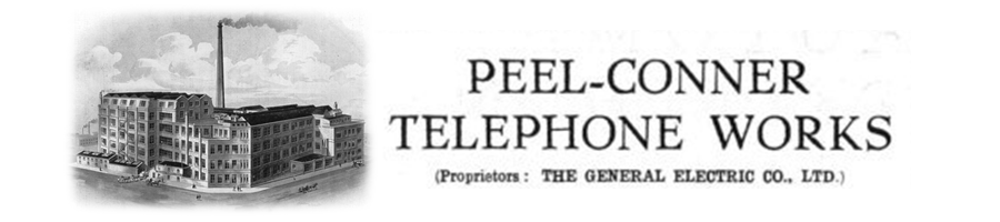 The Peel Conner Telephone works in Salford